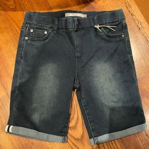 Tractor pull on jegging shorts 16 kids